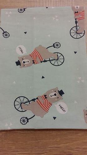 Θήκη για βιβλιάριο υγείας του παιδιού - Βεραμάν ποδήλατα