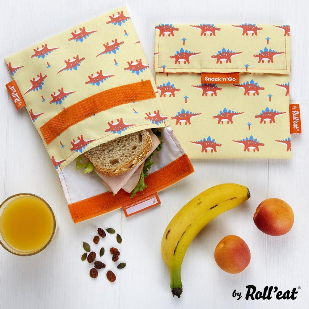 Snack n' Go Snack Bags - Dino