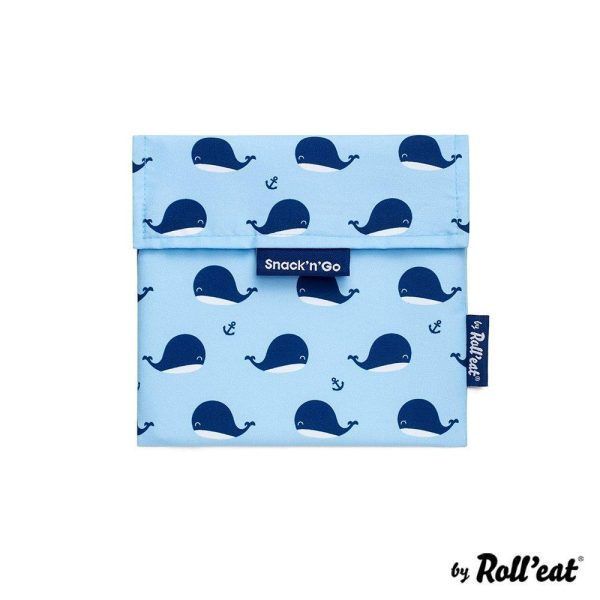 Snack n' Go Snack Bags-Φάλαινες