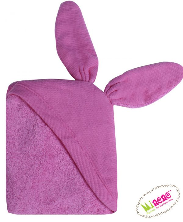 Πετσέτα αγκαλιάς για νεογέννητο - Minene-Μωβ