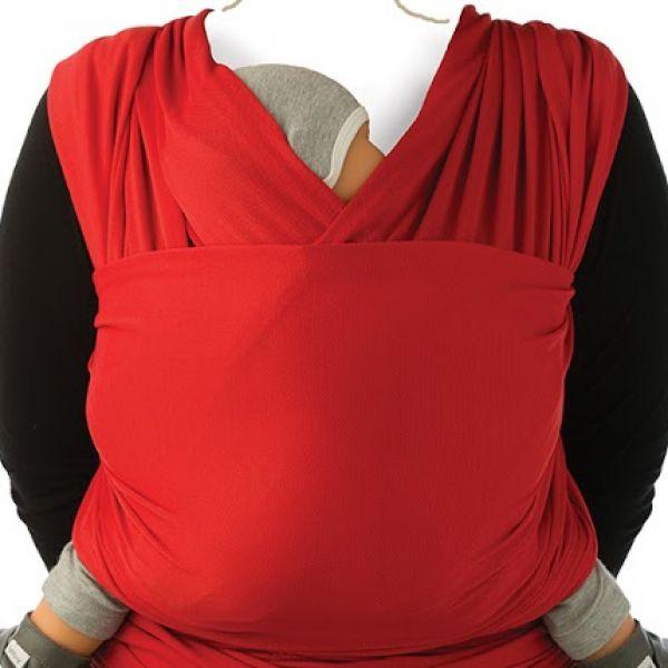 Μάρσιπος wrap cool για babywearing - Babylonia-Κόκκινο