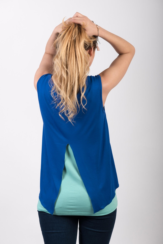 Μπλούζα θηλασμού Blue Sea Top