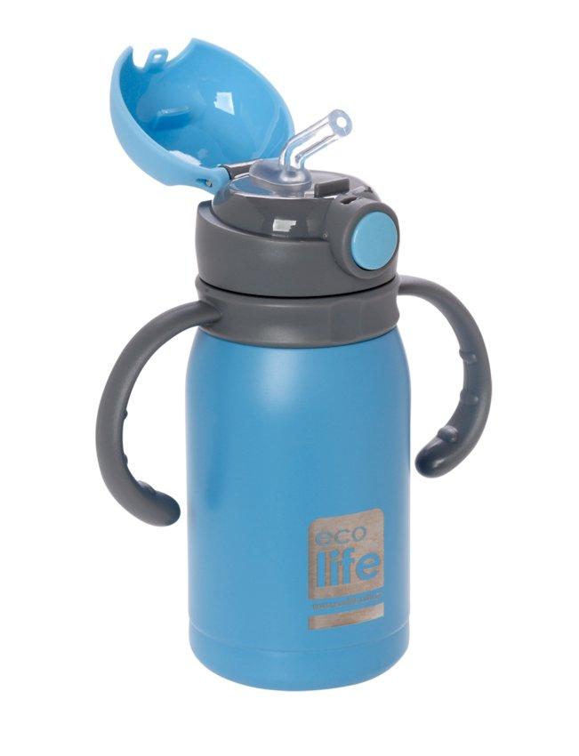 Μπουκάλι-θερμός ανοξείδωτο, με χερούλια, 300ml - Ecolife