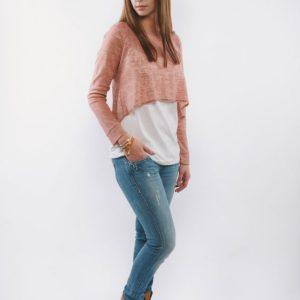 Μπλούζα θηλασμού – Caramel Knitted top