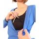 Μπλούζα θηλασμού κρουαζέ με τιραντάκι