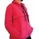 Μπλούζα θηλασμού basic φούτερ με κουκούλα