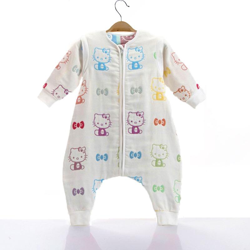 Υπνόσακος με πόδια, βαμβακερός 100%, 6-18 μηνών - Funky monkey - Hello Kitty