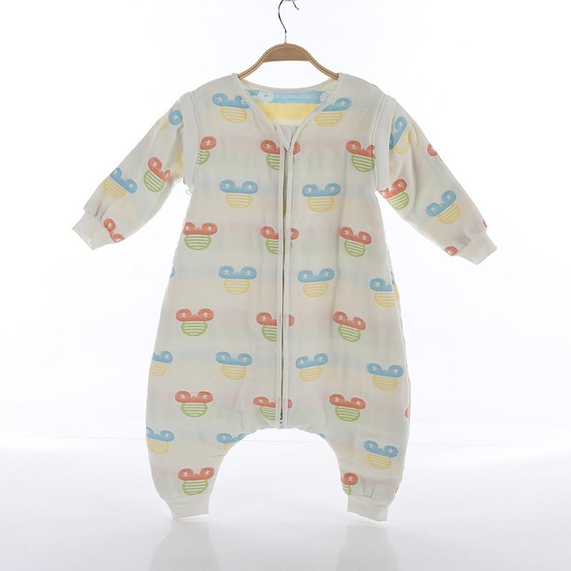 Υπνόσακος με πόδια, βαμβακερός 100%, 6-18 μηνών - Funky monkey - Mickey