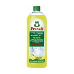 Οικολογικό υγρό γενικού καθαρισμού λεμόνι, 750ml – Frosch