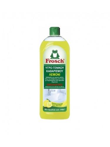 Οικολογικό υγρό γενικού καθαρισμού λεμόνι, 750ml - Frosch