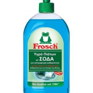 Οικολογικό υγρό απορρυπαντικό πιάτων με σόδα, 500ml – Frosch