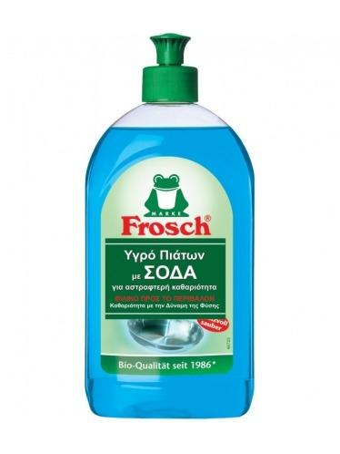 Οικολογικό υγρό απορρυπαντικό πιάτων με σόδα, 500ml - Frosch