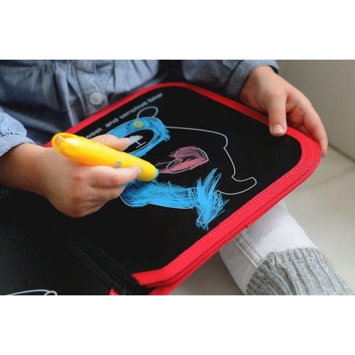 Βιβλίο ζωγραφικής με κιμωλίες, χωρίς σκόνη - Jaq Jaq bird