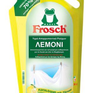 Οικολογικό υγρό απορρυπαντικό ρούχων λεμόνι, 1,8lt – Frosch
