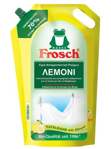 Υγρό απορρυπαντικό ρούχων λεμόνι, 1,8lt - Frosch