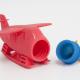 Παιχνίδι μπάνιου σιλικόνης, υδροπλάνο ανοιγόμενο – Marcus & Marcus
