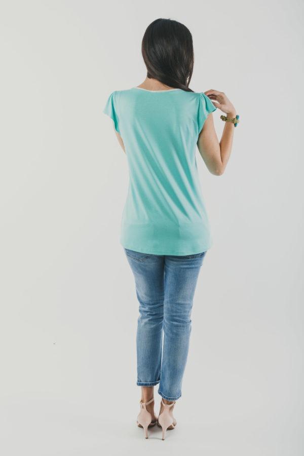 Μπλούζα θηλασμού Cool Air - back