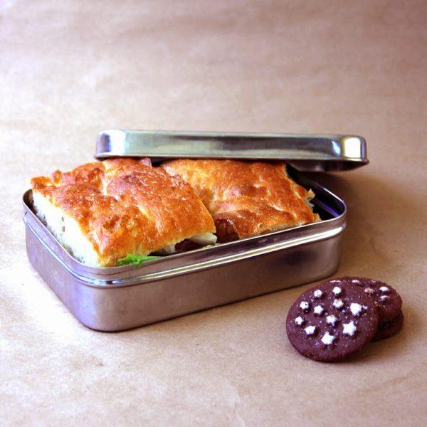 Φαγητοδοχείο ορθογώνιο - Ecolunchbox Solo Rectangle