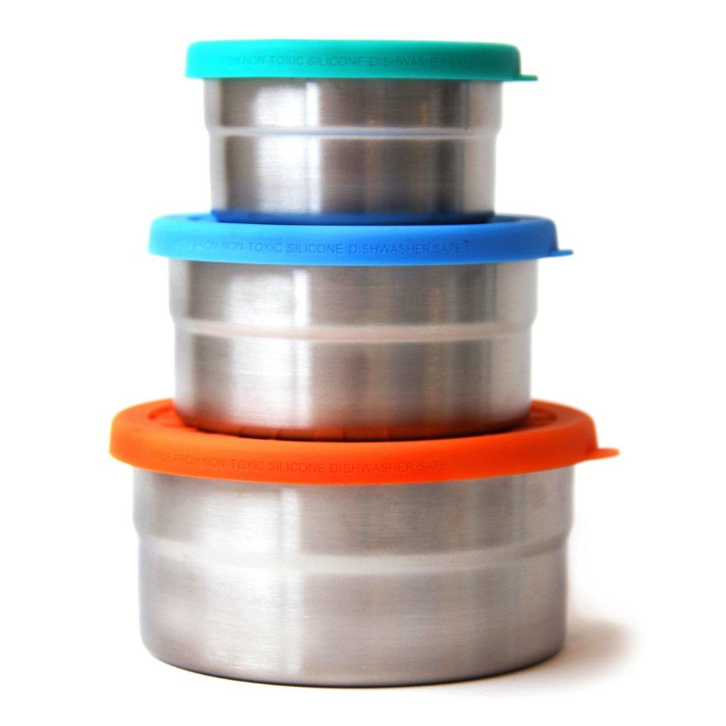 Φαγητοδοχείο στεγανό - σετ 3τμχ- Ecolunchbox Seal Cup Trio