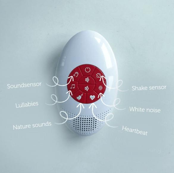 Συσκευή λευκών ήχων & 4 μελωδίες - ZAZU