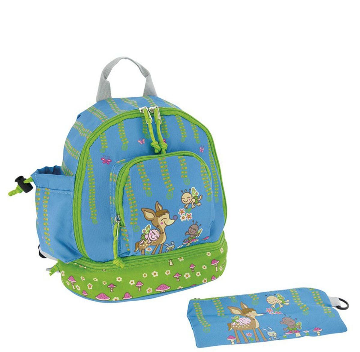 Τσάντα πλάτης με ισοθερμική θήκη- LAKEN - ελαφάκι
