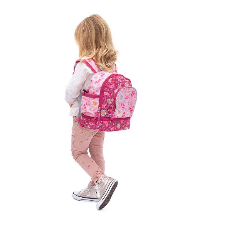 Τσάντα πλάτης με ισοθερμική θήκη της LAKEN - ΛΟΥΛΟΥΔΙΑ