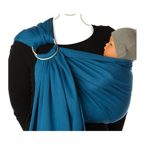 Μάρσιπος Ring sling για babywearing - Babylonia-μπλε2