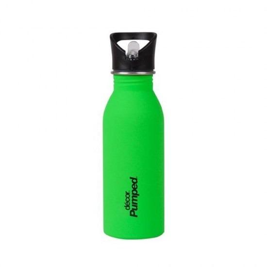 Ανοξείδωτο μπουκάλι Decor με καλαμάκι-ΛΑΧΑΝΙ