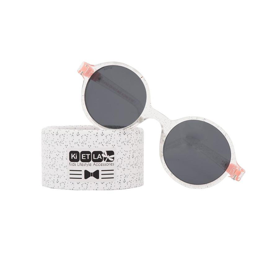 Γυαλιά ηλίου 4 - 6 ετών - KiETLA - Διάφανο-ροζ