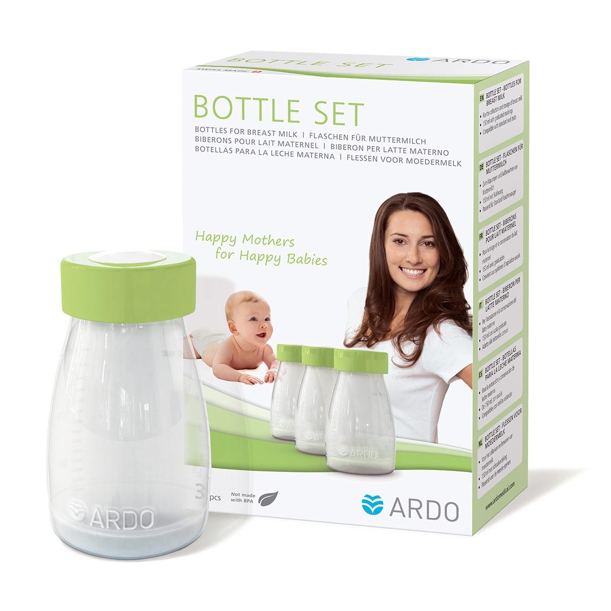 Μπουκαλάκια αποθήκευσης μητρικού γάλακτος - ARDO