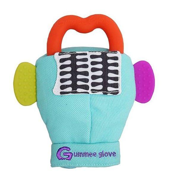 Γάντι οδοντοφυΐας Gummee Glove - Γαλάζιο