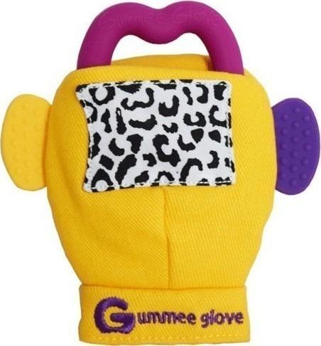 Γάντι οδοντοφυΐας Gummee Glove - Κίτρινο
