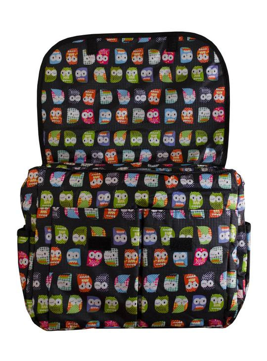Τσάντα αλλαξιέρα Owl Black - My bag's3