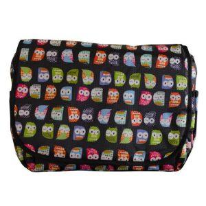 Τσάντα αλλαξιέρα Owl Black – My bag's