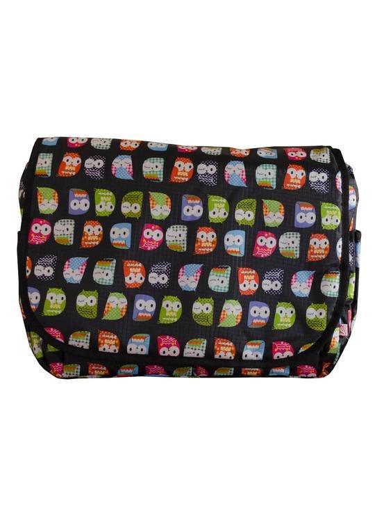 Τσάντα αλλαξιέρα Owl Black - My bag's