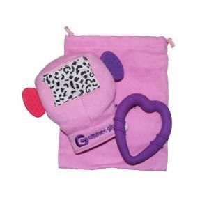 Γάντι οδοντοφυΐας Gummee Glove - Μωβ