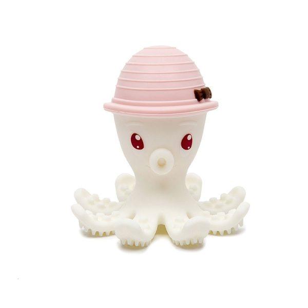 Χταποδάκι μασητικό BabyToLove - Ροζ