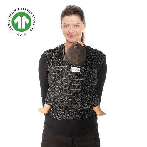 Μάρσιπος Wrap, Tricot-Slen design, organic cotton για babywearing - Babylonia