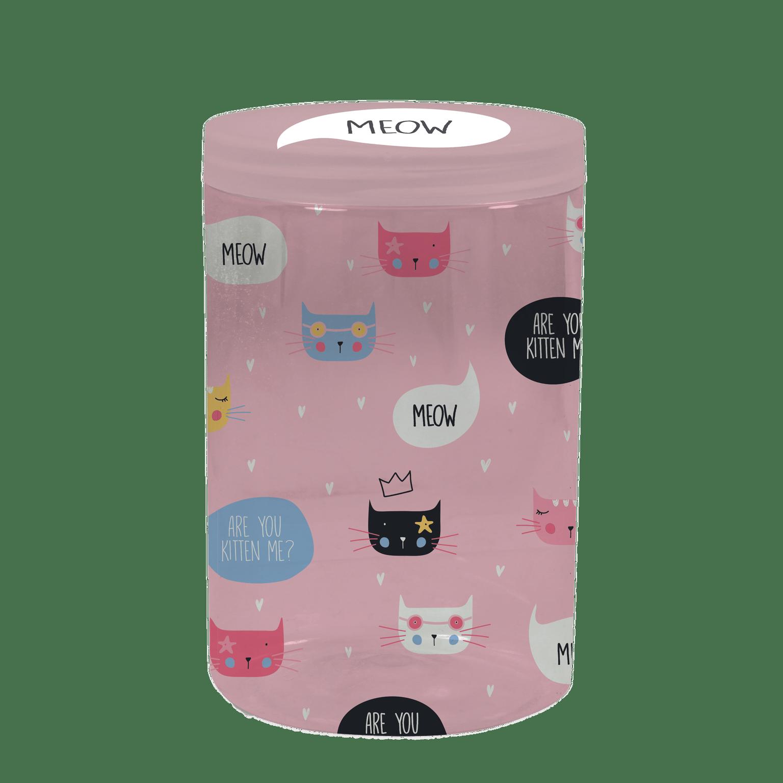 Circle gift box kitten - Minene3
