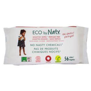 Μωρομάντηλα οικολογικά, χωρίς άρωμα (56τμχ) – Naty
