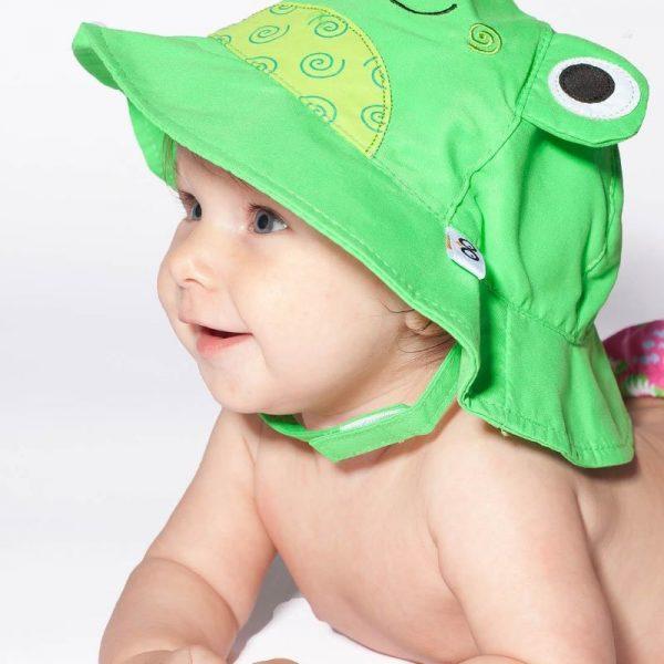 Αντηλιακό Καπέλο ZOOCCHINI - Βατραχάκι2