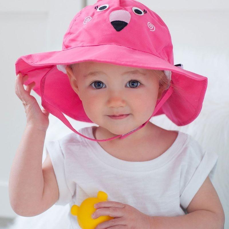 Αντηλιακό Καπέλο UPF50+ - Zoocchini-Φλαμίνγκο