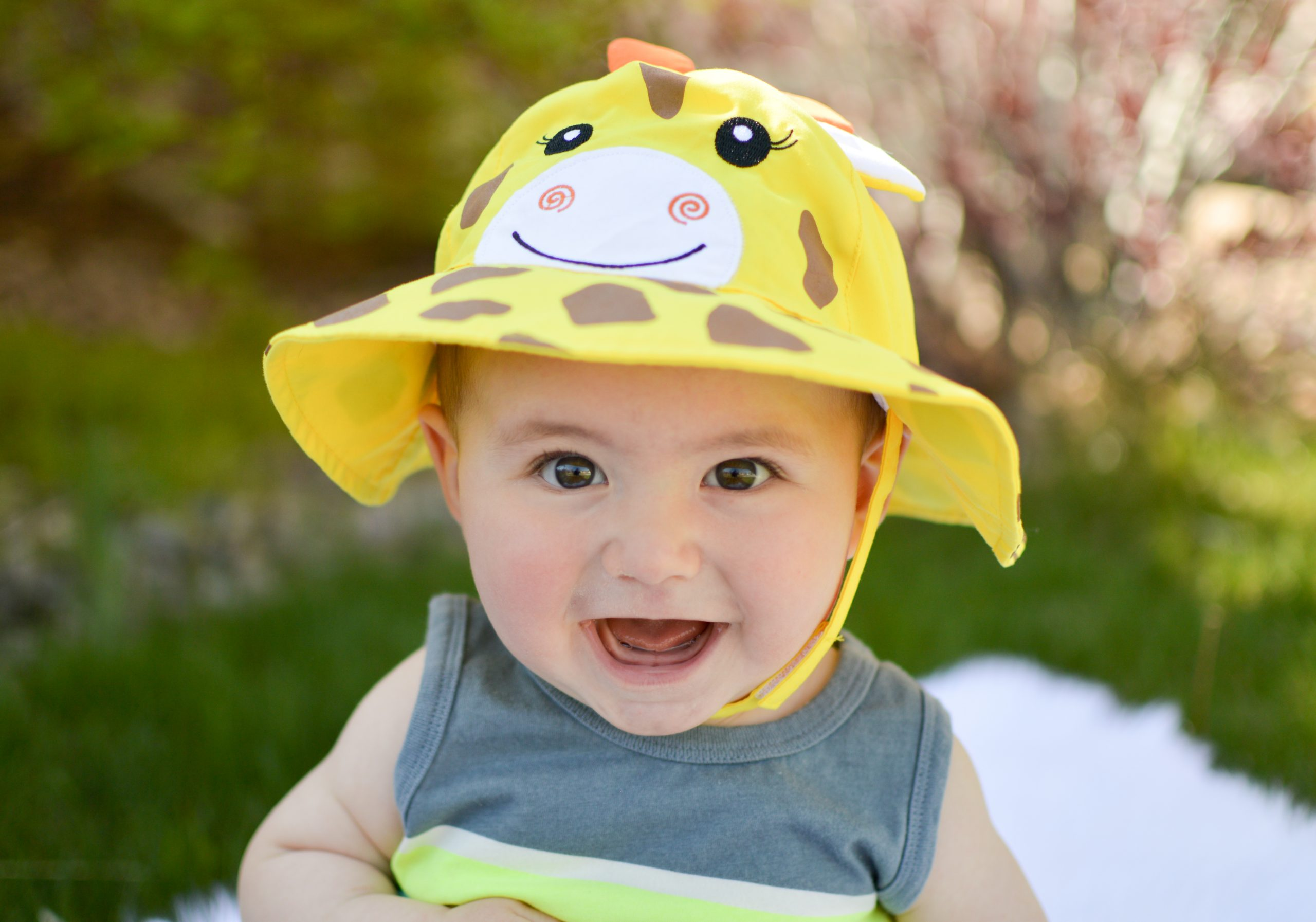 Αντηλιακό Καπέλο UPF50+ - Zoocchini-Καμηλοπάρδαλη