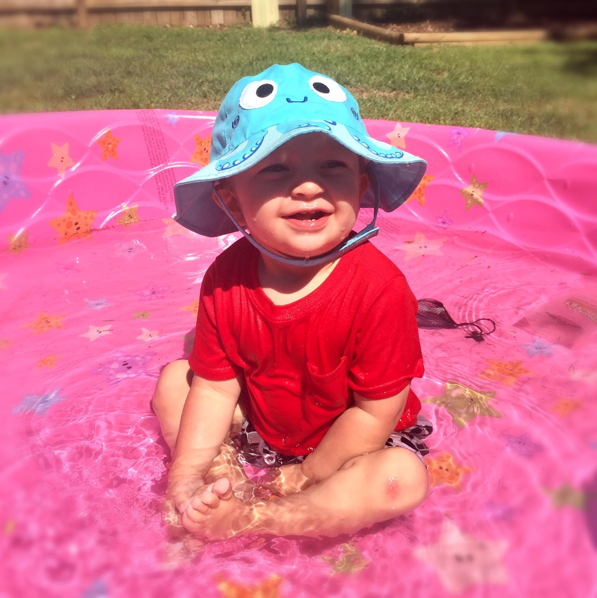Αντηλιακό Καπέλο UPF50+ - Zoocchini-Χταπόδι