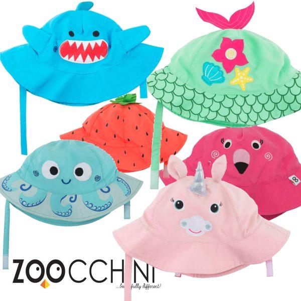 Αντηλιακό Καπέλο UPF50+ - Zoocchini