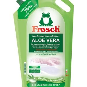 Οικολογικό υγρό απορρυπαντικό ρούχων aloe vera 1,8lt – Frosch
