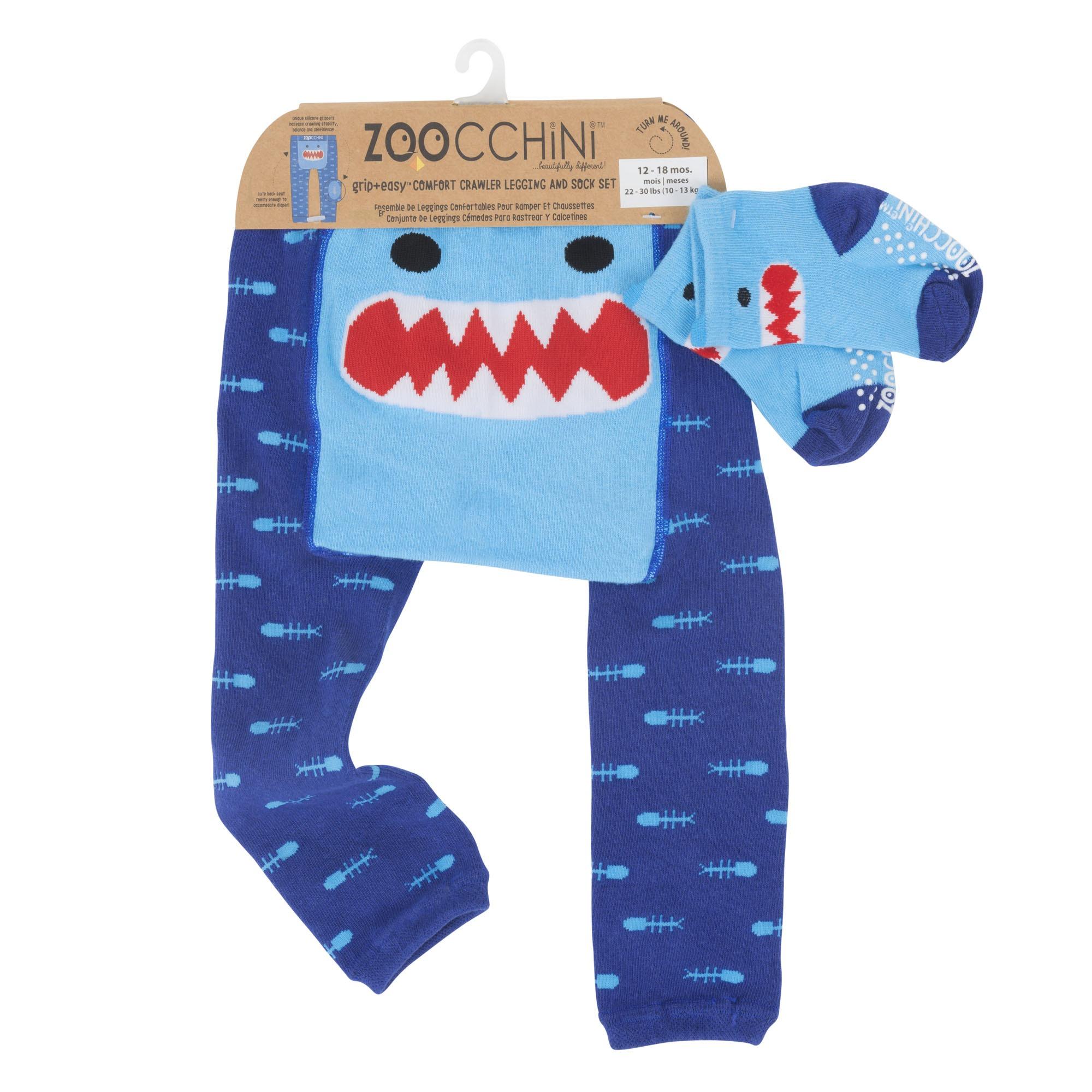 Σετ κολάν για μπουσούλημα και καλτσάκια – Καρχαρίας – Zoochini