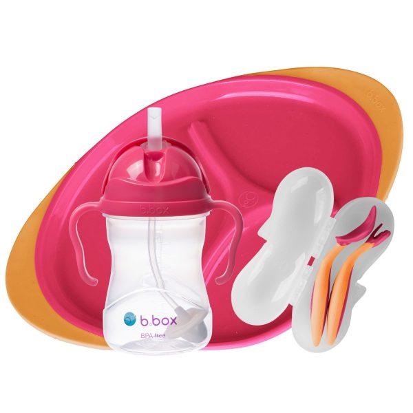 Σετ φαγητου 3 τεμάχια- Bbox-Ροζ