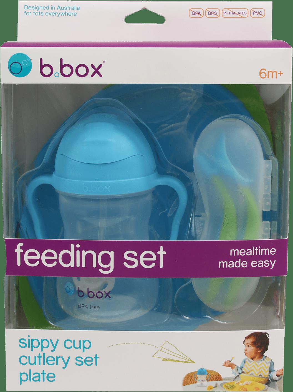 Σετ φαγητου 3 τεμάχια- Bbox-Γαλάζιο