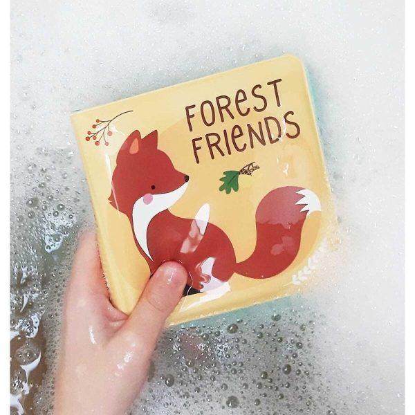Παιχνίδι μπάνιου βιβλιαράκι - δάσος